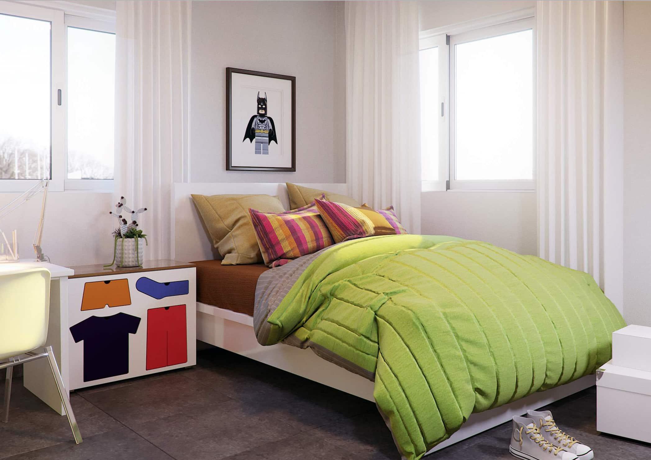 One Bedroom Plus Study Eden Heights